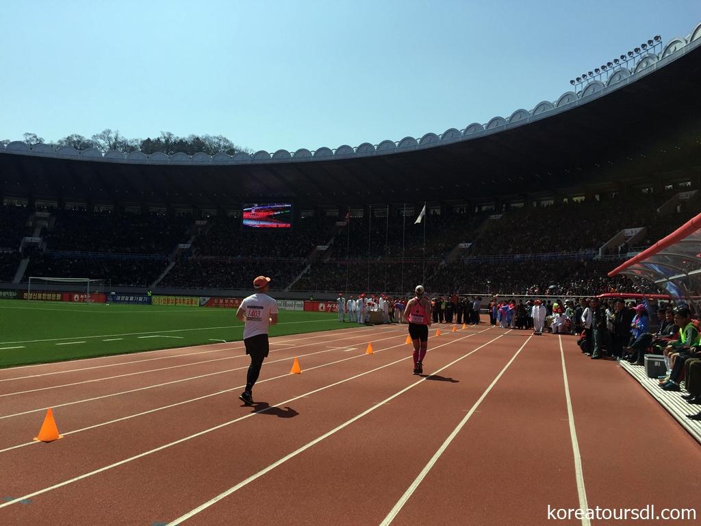 2018年第29回「万景台賞」平壌国際マラソン大会