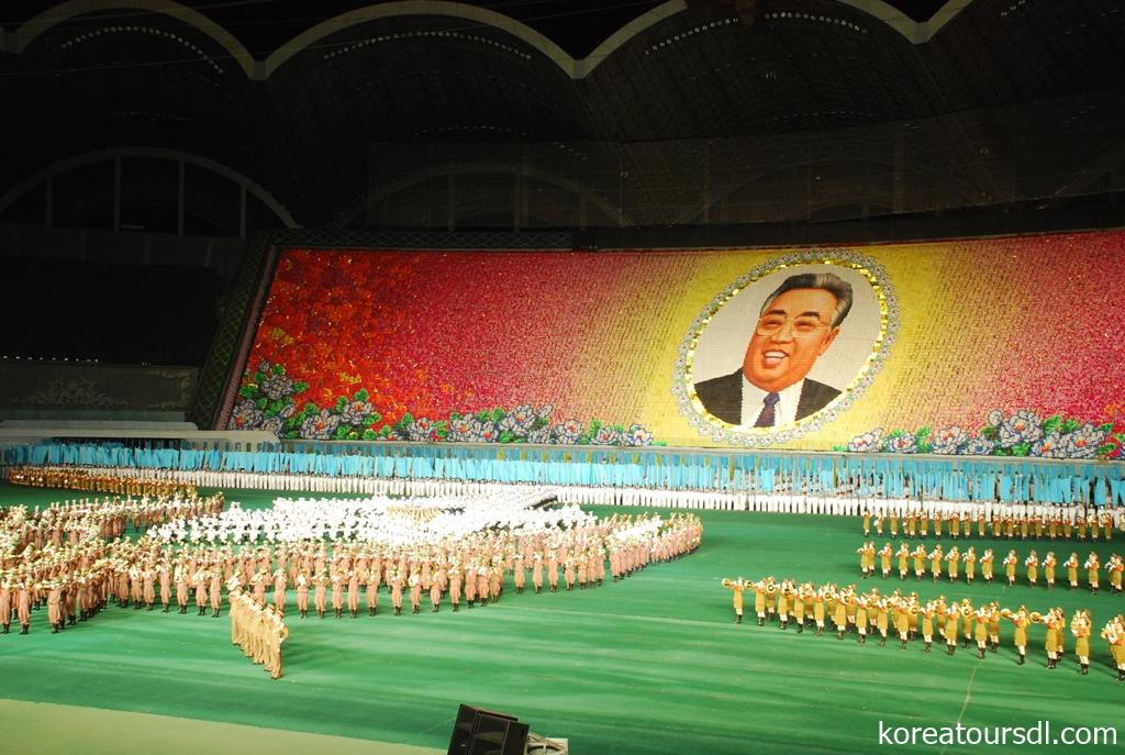 北朝鮮観光の目玉マスゲーム