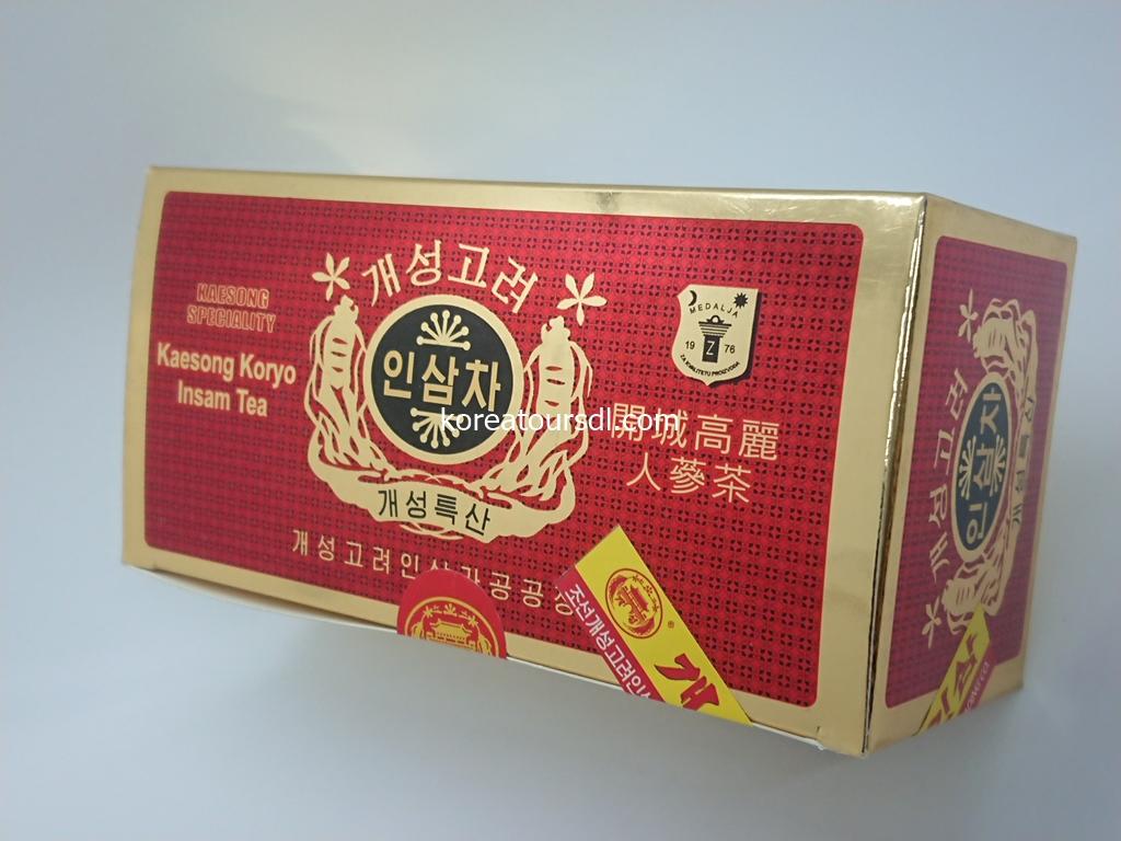 高麗人参茶・北朝鮮高級飲料