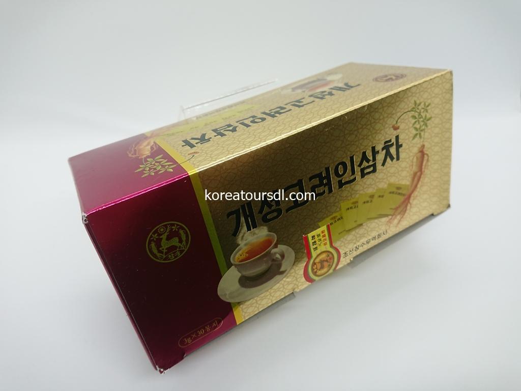 北朝鮮が誇る高麗人参を使った茶