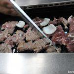 鴨肉の焼き肉