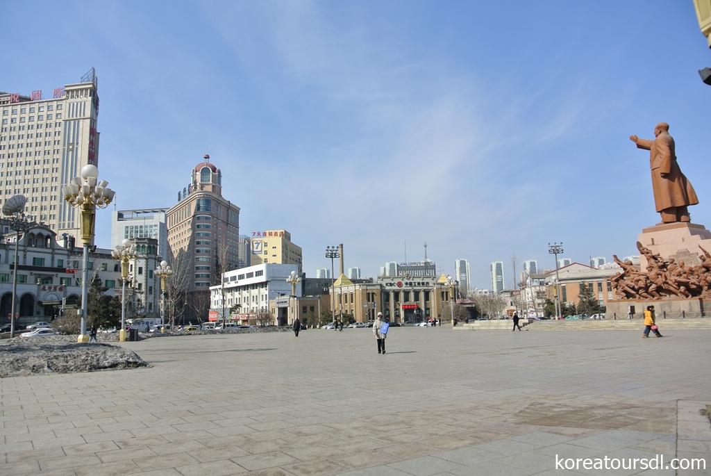 瀋陽・中山広場