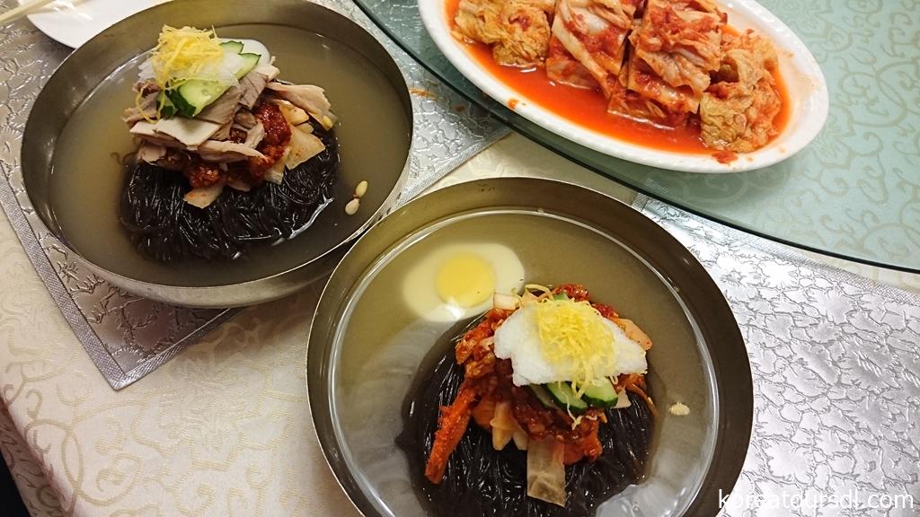 北朝鮮料理を代表する平壌冷麺